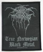 Darkthrone - 'True Norwegian Black Metal' Woven Patch